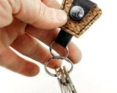 GMC Guitar Pick Holder Keychain - Made of Recycled Vinyl
