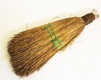 Old Straw Whisk Broom, Wisk Broom, Vintage