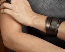 Titanium bracelet bangle bracelet modern bracelet designer bracelet cuff bracelets for women grey braceles cuff bangle bracelet