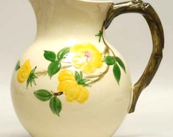 Vintage FRANCISCAN Ware MEADOW Rose 64 Ounce PITCHER!