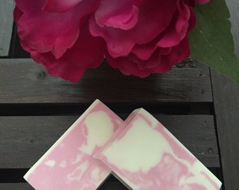 Handmade Soap/Rose/Melt and Pour/All Natural