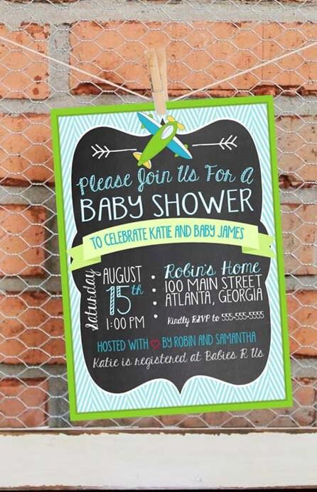 airplane baby shower invitation airplane by libertyandlilacpaper