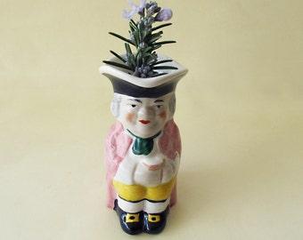 Vintage Miniature Toby Jug