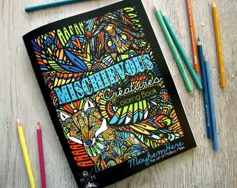 Coloring Book - Mischievous Creatures
