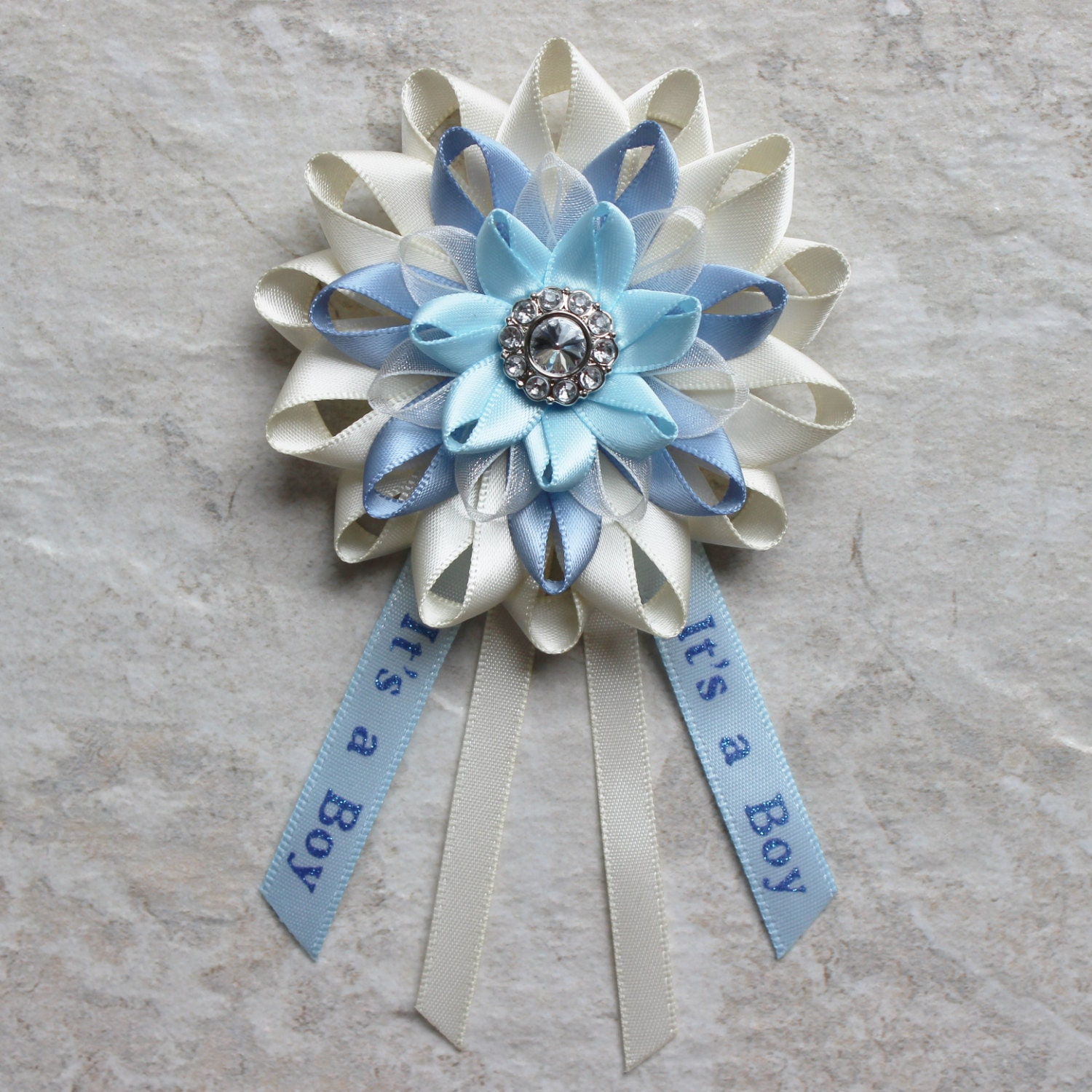 Baby Boy Shower, Its A Boy Baby Shower, Blue Baby Shower Decor, New Mom  Pin, Mom To Be Corsage, New Baby Pin, Baby Shower Decorations