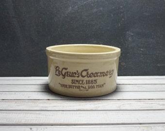 Le Grue's Creamery Crock