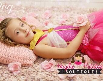 Sleeping Beauty dress - disney princess -Aurora tutu dress - Aurora costume -Sleeping Beauty costume - princess dress ...First birthday