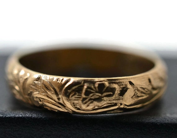14k gold filled ring renaissance style by fifthheaven