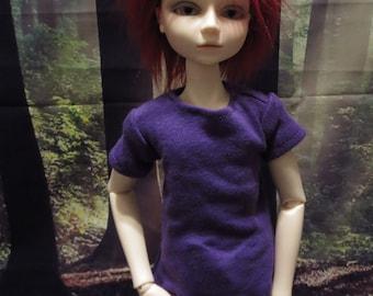 MARKDOWN Plain Purple 45cm MSD BJD Shirt