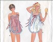 Butterick 4360 Vintage 1980s Ladies' Pajamas Loungewear Pants Top Shorts Sewing Pattern B30.5