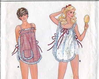Butterick 4360 Vintage 1980s Ladies' Pajamas Loungewear Pants Top Shorts Sewing Pattern B30.5
