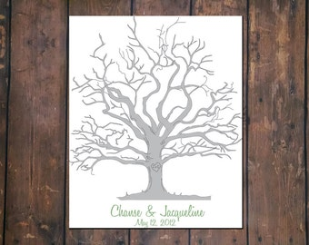 Thumprint Tree Guestbook