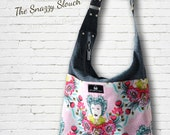"Slouch Handbag PDF Sewing Pattern -  ""Snazzy Slouch"" by ChrisW Designs"