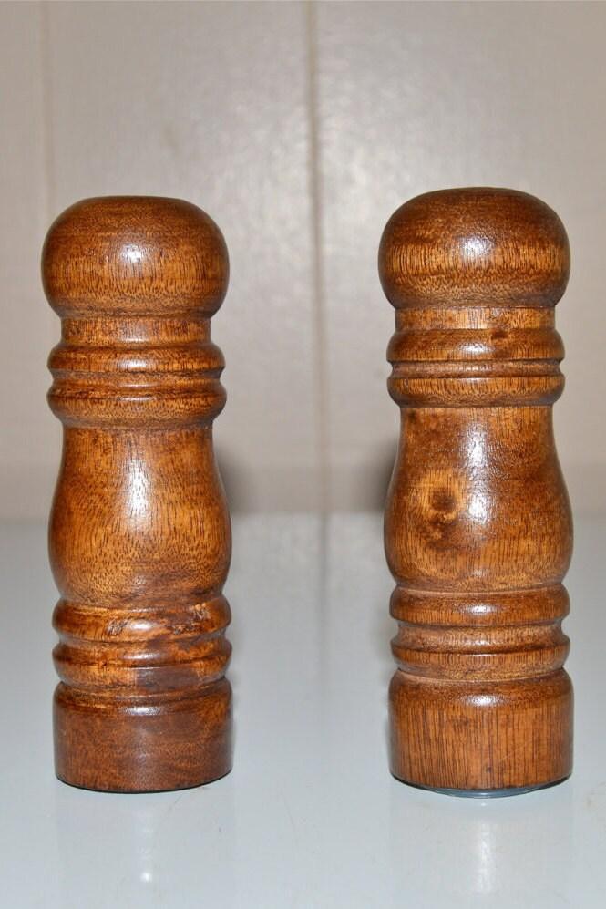 Wood Salt And Pepper Shaker Set Wooden Shakers Salt