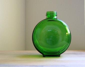 Vintage Round Green Refrigerator Bottle
