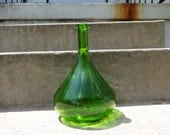 Modern Green Glass Vase