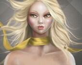 "PRINT - Open Edition - 17x24 cm unframed - ""AURA (elementals)"""