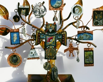 Tree of Owls Original Assemblage