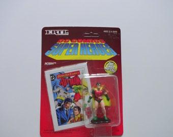 Vintage ETRL Batman Die-Cast Metal Robin 1990 NIB