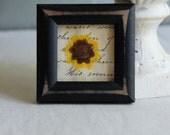 Genuine pressed flower wall decor framed flower flower in frame wall art by My Sweet Maison