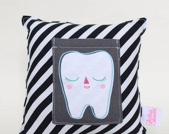 Tooth Pillow - Black
