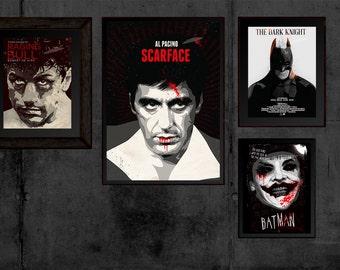 Scarface Poster - Al Pacino As Tony Montana Print Movie Poster