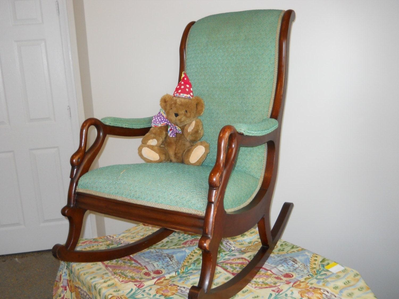 Rocking Chair Vintage Rocker Swan Neck Rocker Local Pickup