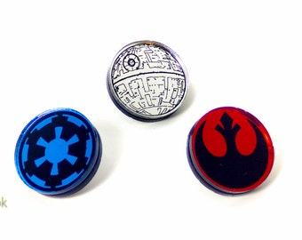 Star Wars Pins - Laser Cut