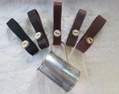 1 Leather Mug Strap, Medieval Renaissance - Choose Your Color