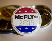McFly 2015    Back to the Future 2   1-inch Button