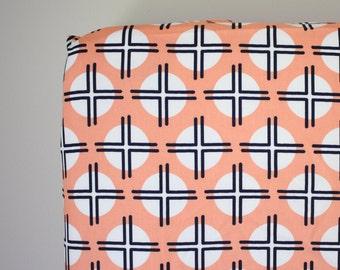 Fitted Crib Sheet: Clay Sundot    by JuteBaby