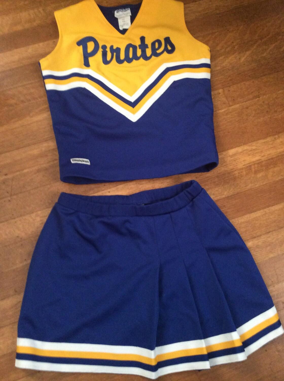 Vintage Cheerleading Uniform / Cute Cheerleading Uniform