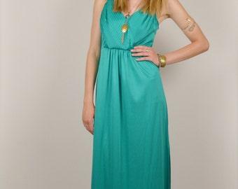 70's Goddess Maxi Dress