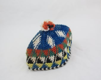 Items Similar To Red Hat Women Red Beanie Handmade Knit