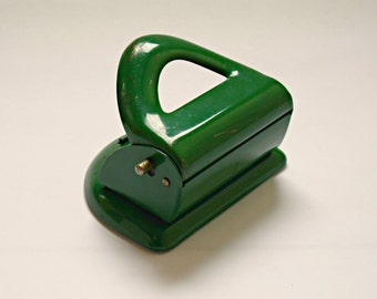 Vintage Mid-Century Hole Punch for Desk or Office, Velos 4314 Perforator