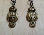 Spooky Haunted Girl Earrings