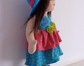 Custom doll for Poorva!