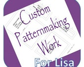 Custom Listing for Lisa @ Woodbeam ****Custom Sewing Pattern****  Design Your Idea and Bring It to Life