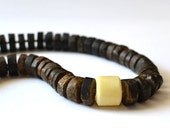 Amber Necklace Natural Baltic Amber Dark and White Amber Silver Sterling Raw Natural Stones Amber Gift
