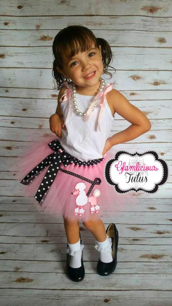 Pink Poodle Skirt Tutu Newborn Adult ListingPoodle