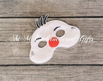 Olaf Inspired Mask