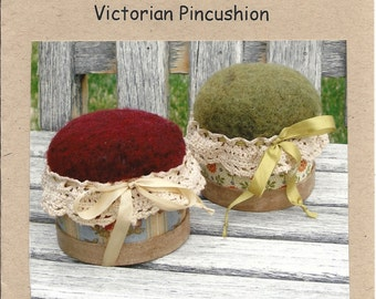 VICTORIAN PINCUSHION Pattern by Amy McClellan