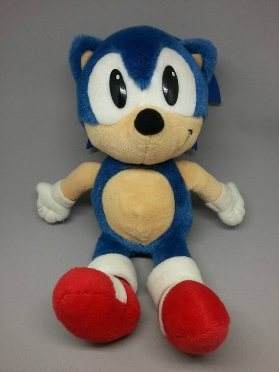 Sonic the Hedgehog Plush Stuffed Animal Vintage 14 by
