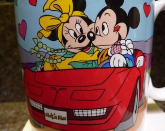 Walt Disney Applause Mickey And Minnie Mouse Mug I Love You