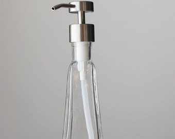 Small Tower Recycled Glass Soap Dispenser