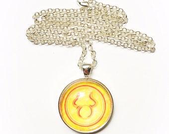Taurus Constellation Zodiac Necklace