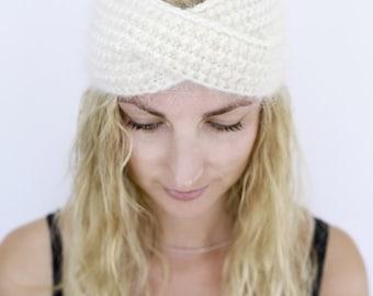 Turban headband Ear Warmer Winter accessory Knit Headband Turban Earmuffs Knitted Headband Winter Headband Womens headband Hair Accessories