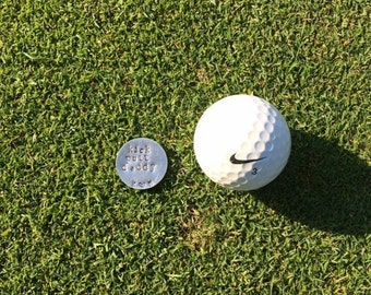 Golf Ball Markers - fathers day gift daddy gift golfer kick putt golfer gift