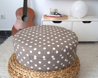 Floor Pillows Playroom : Crochet Floor Cushion Star Pillow Kids Floor Pillow Pouf