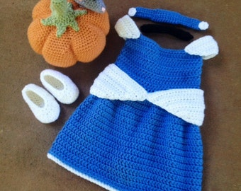 Crochet Cinderella Costume